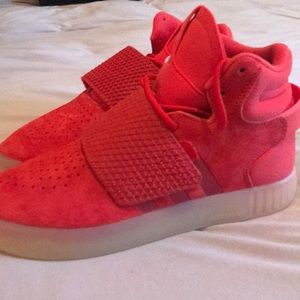 NWT Adidas Tubular Invader Strap High Top Sneakers